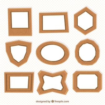 Colección marcos de madera