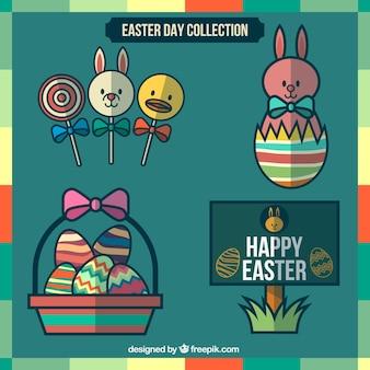 Colección preciosa elemento de Pascua