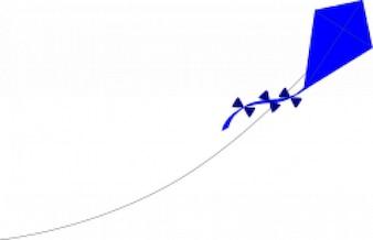 cometa azul