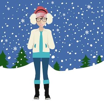 Concepto de invierno