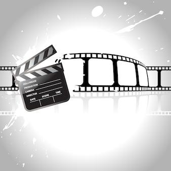Concepto de película con cinta