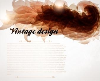 Concepto editorial carta Catálogo de la vendimia