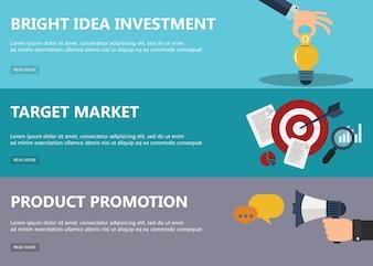 Conceptos de diseño de planos para el mercado