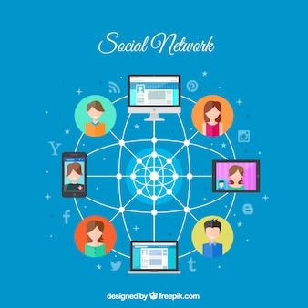 Conexión por red social