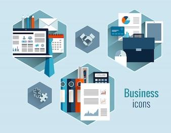 Conjunto de conceptos de negocio