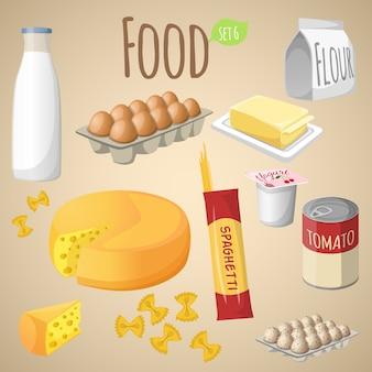 Conjunto de mezcla de alimentos