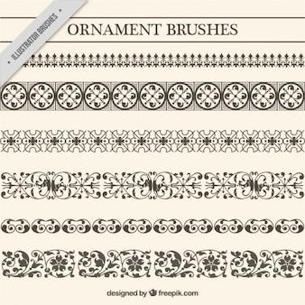 Conjunto de separadores ornamentales vintage