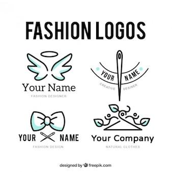 Conjunto logotipo a medida