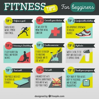 Consejos de fitness para principiantes