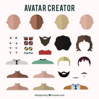 Creadores de avatares de chicos