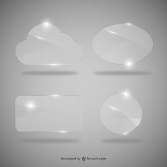 Cuadros de diálogo de cristal