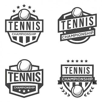 Cuatro logotipos deportivos