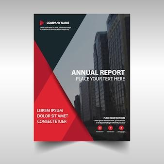 Cubierta abstracta de informe anual