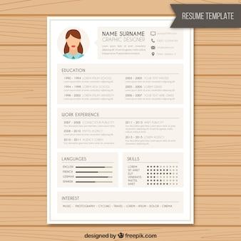 Curriculum de diseñador gráfico