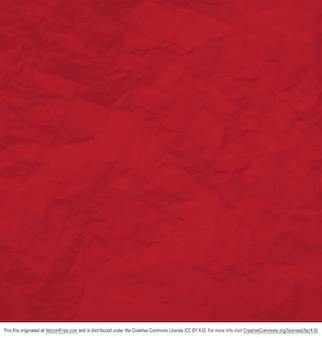 Dañado fondo rojo arrugado