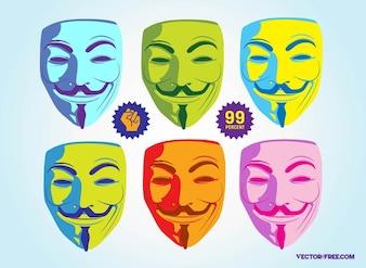 david loyd activismo máscara de Fawkes