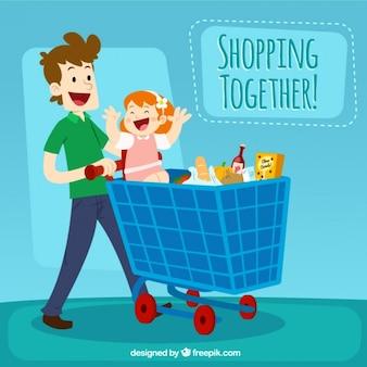 De compras juntos!