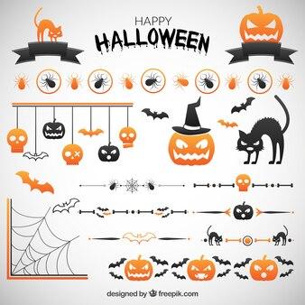 Decoración de fiesta de halloween
