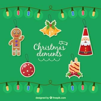 Decoración del árbol de Navidad Set