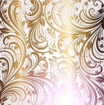 Decoración del modelo de la alfombra renacimiento de la vendimia