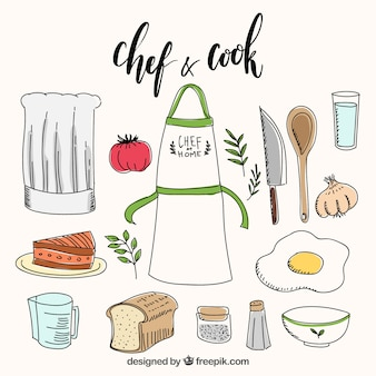 Panaderia fotos y vectores gratis - Objetos de cocina ...