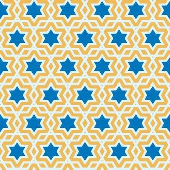 Delicado patrón árabe Ilustración vectorial