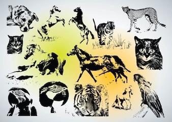 descargar vectores animales