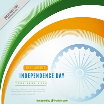 Día de la independencia de india, bonito fondo