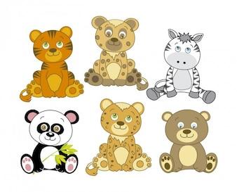 Dibujo de animales adorables