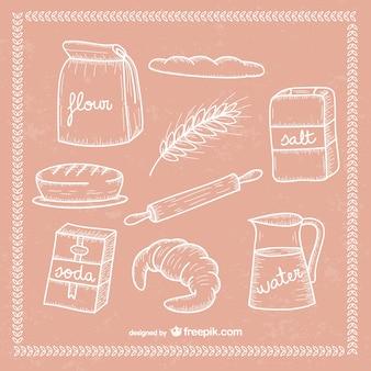 Dibujos de panadería
