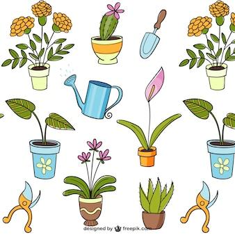 Jardineria vector fotos y vectores gratis for Imagenes de jardineria gratis