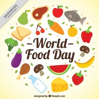 Dieta saludable para el día mundial de los alimentos