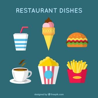 Diferentes tipos de comida