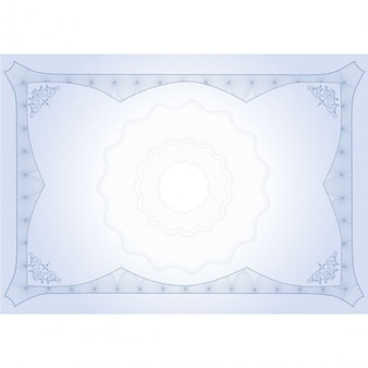 Diploma bonito azul