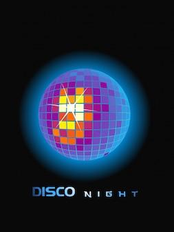 Disco bola de fiesta