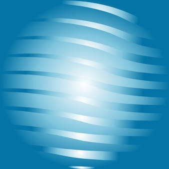 Diseño abstracto de globo