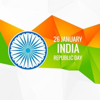diseño abstracto del Día de la República de India