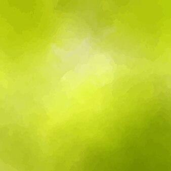 Diseño amarillo de fondo de acuarela