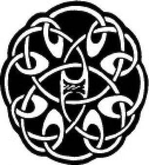 Diseño céltico del nudo