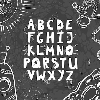 Diseño de abecedario