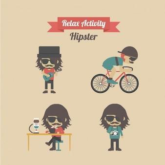 Diseño de actividades hipster