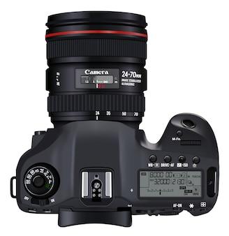 Diseño de cámara con vista superior
