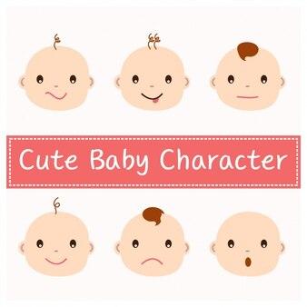 Diseño de caras de bebés