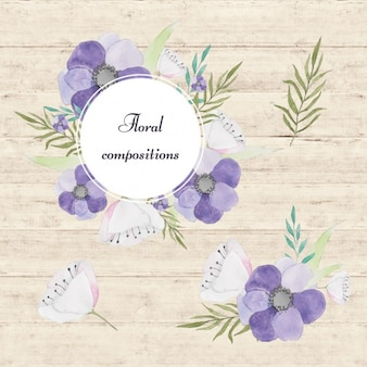 Diseño de composición floral
