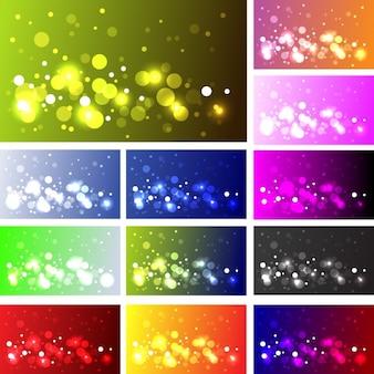 Diseño de diferentes efectos bokeh