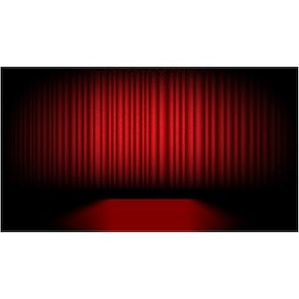 Diseño de escenario de teatro
