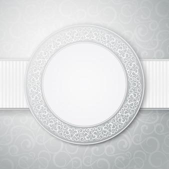 Diseño de etiqueta decorativa