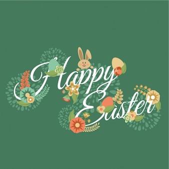 Diseño de feliz Pascua