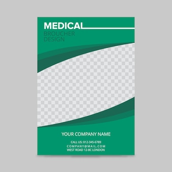 Diseño de folleto médico