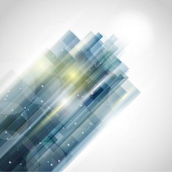 Diseño de fondo abstracto con un ambiente futurista